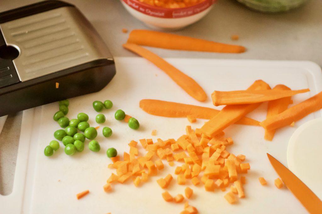 brunoise de carotte