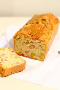 Cake au jambon et emmental